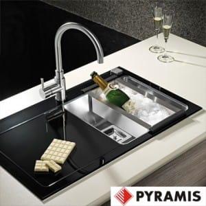 Pyramis Glass Sinks