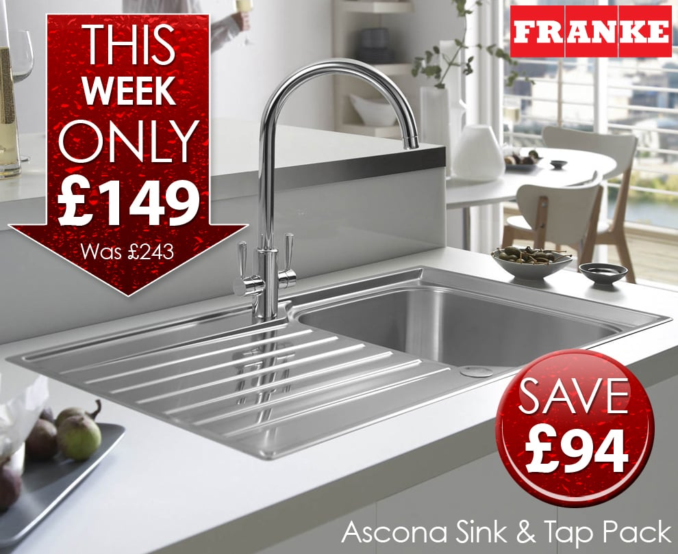 Franke Sink And Tap Packages : Ascona Sink and Tap Deal