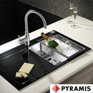 Pyramis Glass Sinks