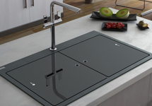 Top Kitchen Sinks Kitchen sinks glass top sinks workwithnaturefo