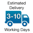 3-10 Working Days Delivery