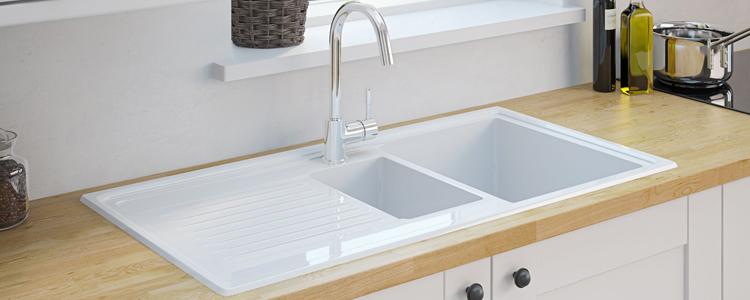 1.5 Bowl Ceramic Sinks