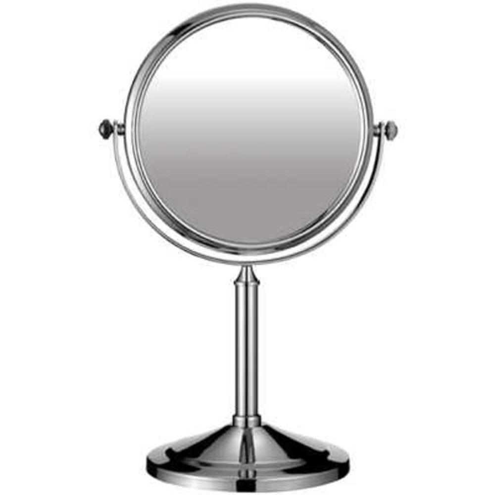 6 Free Standing Chrome Swivel Bathroom Shaving Mirror 6033
