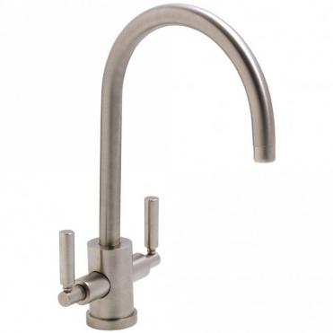 Abode Atlas Aquifier Brushed Nickel Monobloc Kitchen Sink Mixer Tap AT2004
