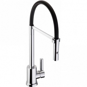 Abode Atlas Chrome Single Lever Kitchen Sink Mixer Tap AT1249