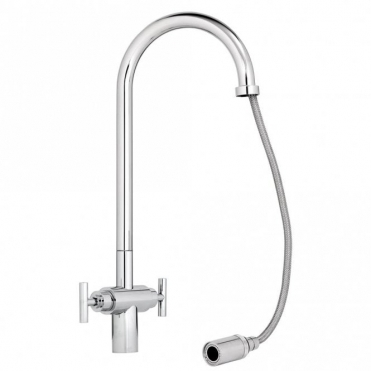 Abode Avior Chrome Pull Out Kitchen Sink Mixer Tap AT1058