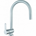 Abode Czar Chrome Single Lever Kitchen Sink Mixer Tap AT1241