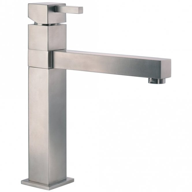 Abode Gino Single Lever Stainless Steel Kitchen Sink Mixer Tap
