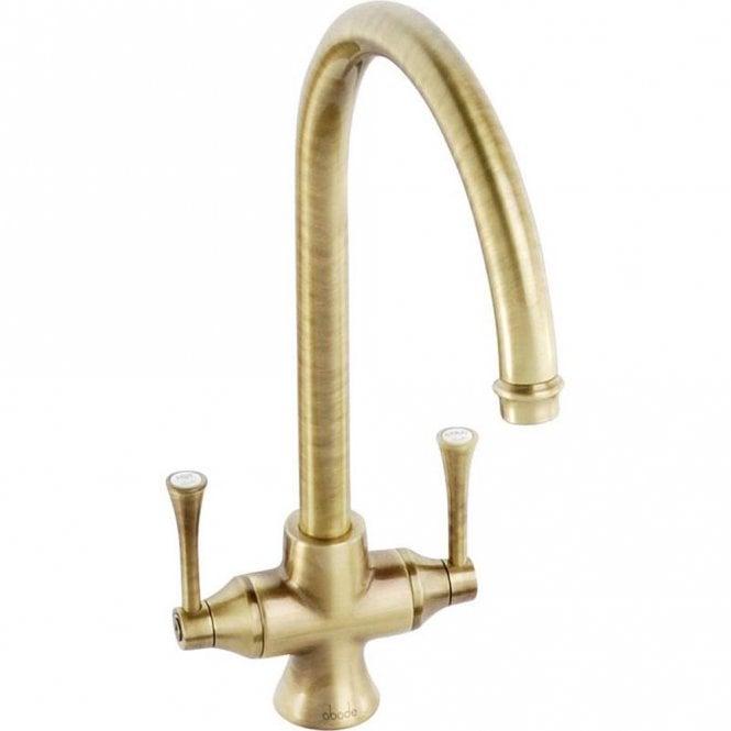 Abode Gosford Antique Bronze Monobloc Kitchen Sink Mixer Tap AT1022 ...