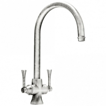 Abode Gosford Aquifier Brushed Nickel Monobloc Kitchen Sink Mixer Tap AT2006