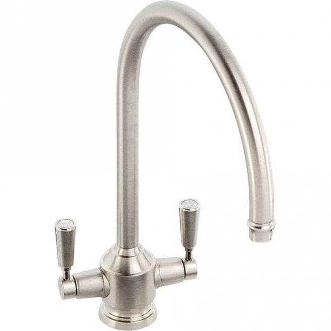 Abode Hargrave Brushed Nickel Monobloc Kitchen Sink Mixer Tap At1151