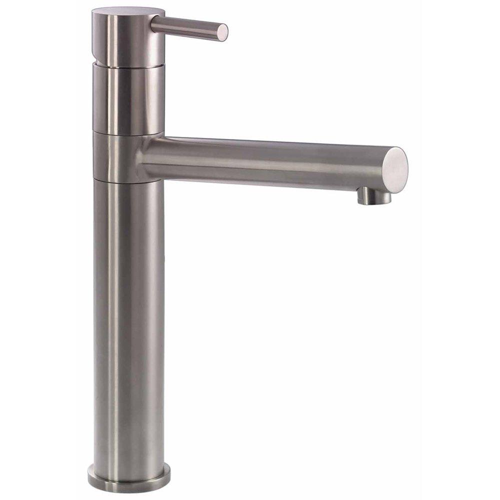 Abode Ignus Stainless Steel Monobloc Kitchen Sink Mixer Tap AT - Kitchen sink taps uk