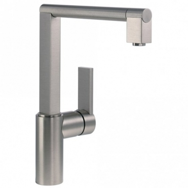 Abode Indus Single Lever Brushed Nickel Kitchen Sink Mixer Tap AT1119