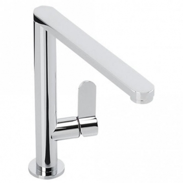 Abode Linear Single Lever Chrome Kitchen Sink Mixer Tap AT1187