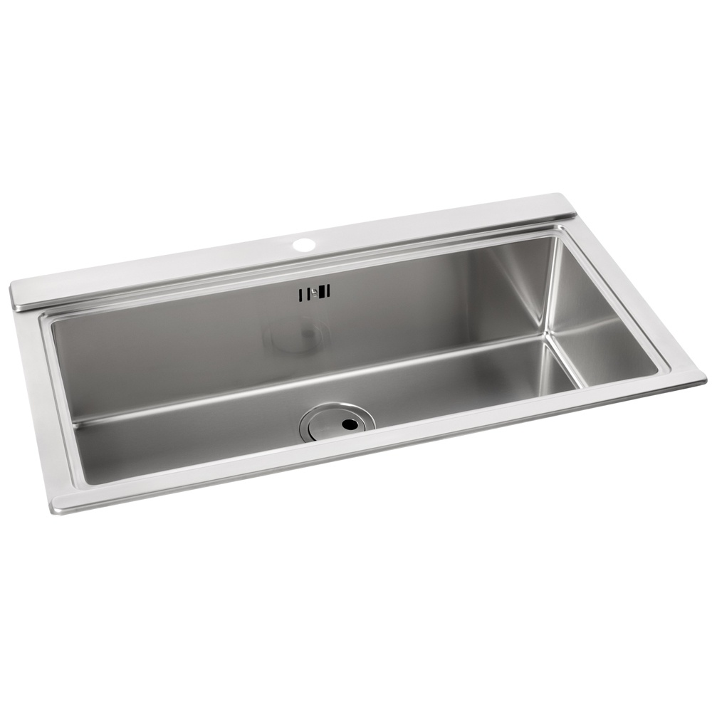 Large Stainless Steel Sinks Uk : ... Abode ? View All 1.0 Bowl Sinks ? View All Abode 1.0 Bowl Sinks