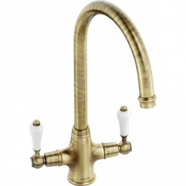 Abode Ludlow Antique Bronze Monobloc Kitchen Sink Mixer Tap AT1028