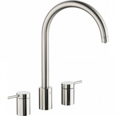 Abode Profile 3 Pronteau 4 in 1 Ambient, Filtered & 98° Brushed Kitchen Sink Mixer Tap