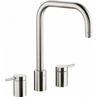 Abode Project Pronteau 4 in 1 Ambient, Filtered & 98° Brushed Kitchen Sink Mixer Tap