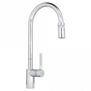 Abode Ratio Professional Monobloc Chrome Kitchen Sink Mixer Tap AT1115