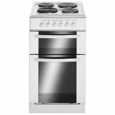 Astini 50cm Slot-in Twin Cavity White Electric Cooker W025ECH