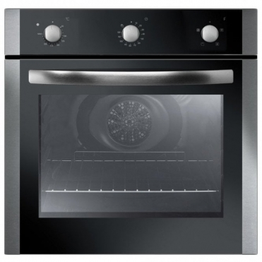 Astini 60cm Stainless Steel Fan Oven Minute Minder X006FOBI