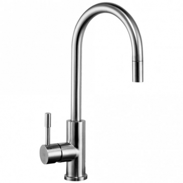 Astini Agata Brushed Stainless Steel Pullout Rinser Kitchen Sink Mixer Tap HK68