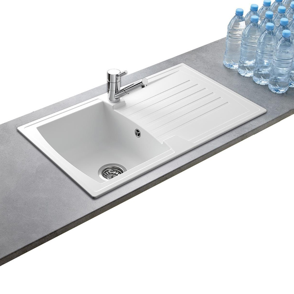 White Composite Sink - Sink Ideas