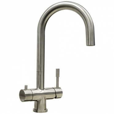 Astini Azzurra Brushed Stainless Steel Kitchen 3 Way Filter Water Tap HK87