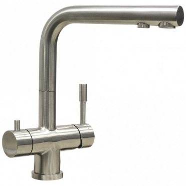 Astini Azzurra Brushed Stainless Steel Kitchen 3 Way Filter Water Tap HK88