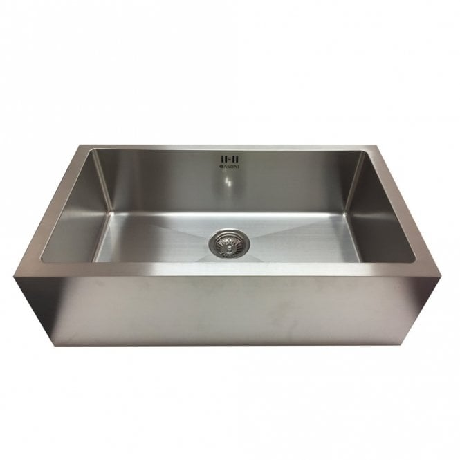 Astini Belfast 800 1.0 Bowl Brushed Stainless Steel Kitchen Sink ...