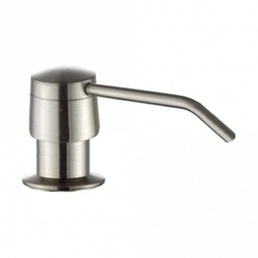 Astini Brushed Nickel 270ml Integrated Kitchen Sink Soap Dispenser