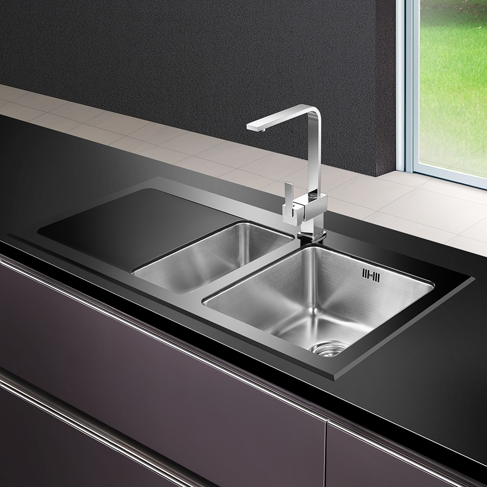 ... Astini ? View All 1.5 Bowl Sinks ? View All Astini 1.5 Bowl Sinks