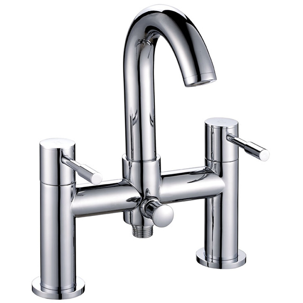 astini esprit swan neck bath shower mixer tap w017