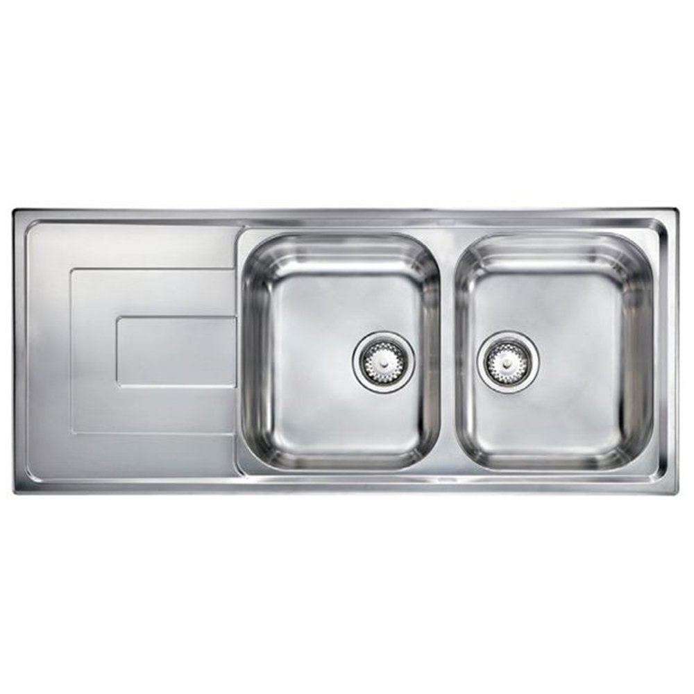 Brushed Stainless Steel Sinks Kitchen : view all astini view all 2 0 bowl sinks view all astini 2 0 bowl sinks