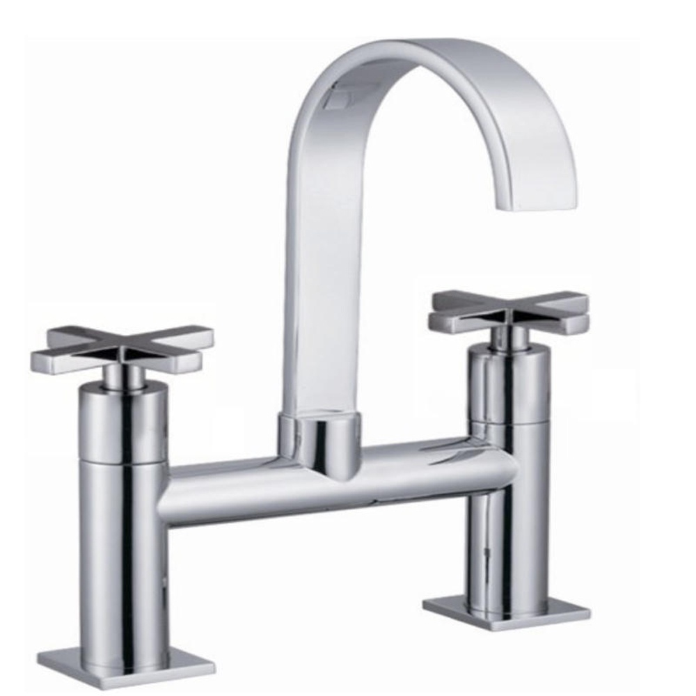 astini luna chrome swan neck bathroom bath mixer tap b015x