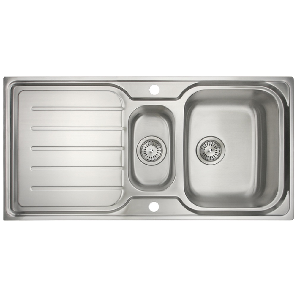 Astini Magnum 15 Bowl Brushed Stainless Steel Kitchen Sink Waste