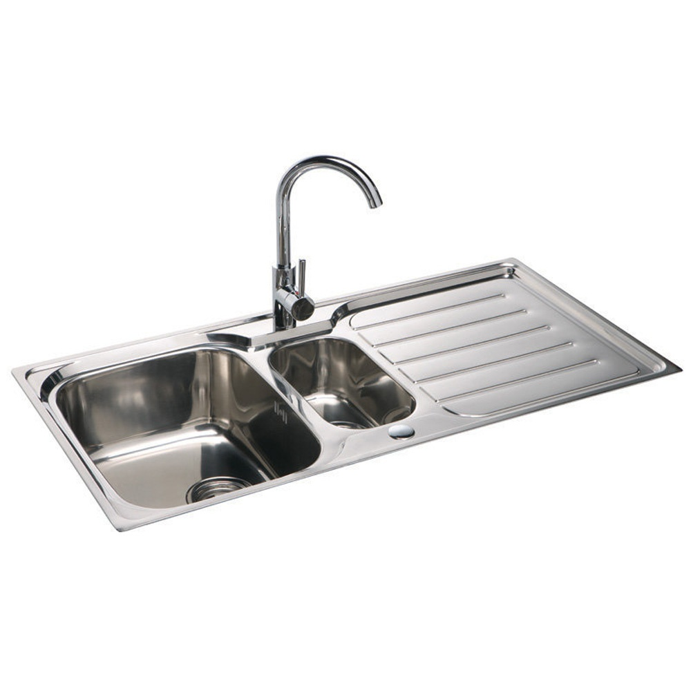 Stainless Steel Kitchen Sinks : ... Astini ? View All 1.5 Bowl Sinks ? View All Astini 1.5 Bowl Sinks