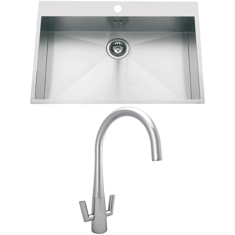 Large Stainless Steel Sinks Uk : ... stainless steel kitchen sinks view all astini stainless steel kitchen