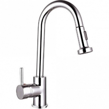 Astini Oliver Chrome Pullout Spout Kitchen Sink Mixer Tap HK17