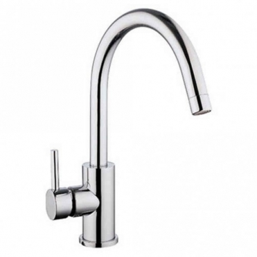 Astini Oliver Chrome Single Lever Kitchen Sink Mixer Tap HK15