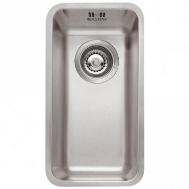 Astini Vico 0.5 Bowl Silk Stainless Steel Undermount Kitchen Sink AS361