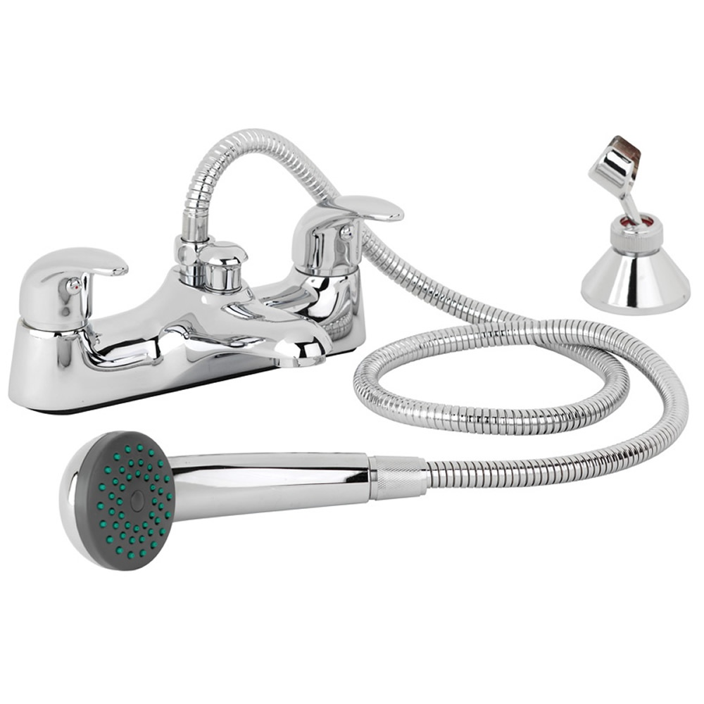 astini titan chrome bath shower mixer tap shower kit