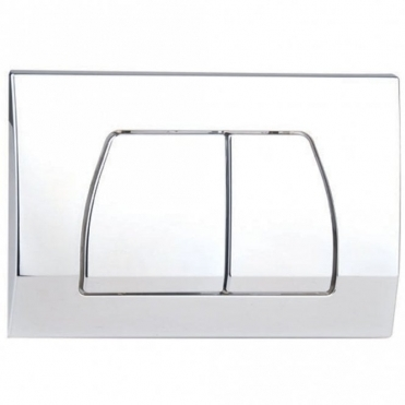 Astini Wall Hung Toilet Frame Chrome Cistern Cover G5-CC