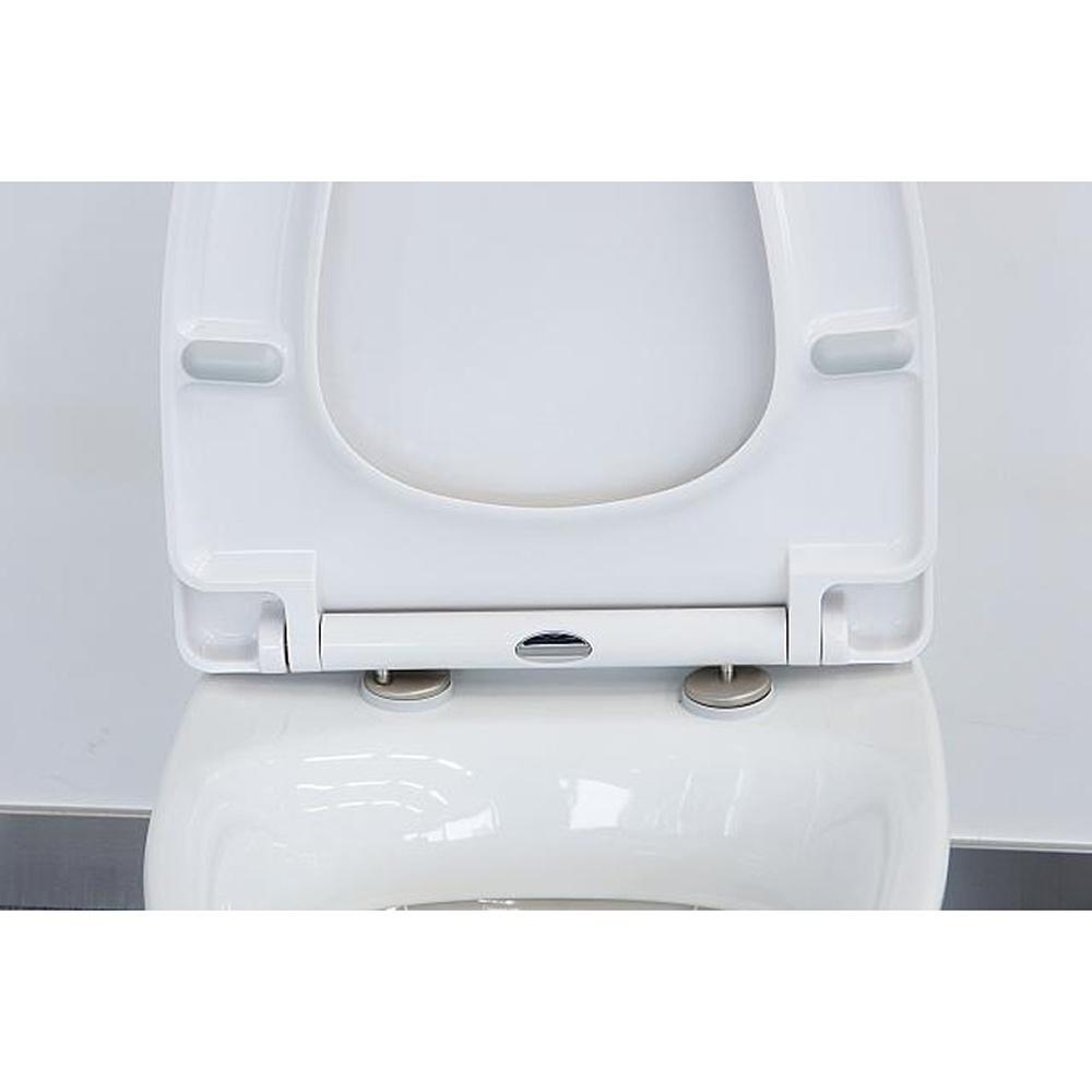 Best Slow Close Toilet Seat Astini White D Shape Short Universal