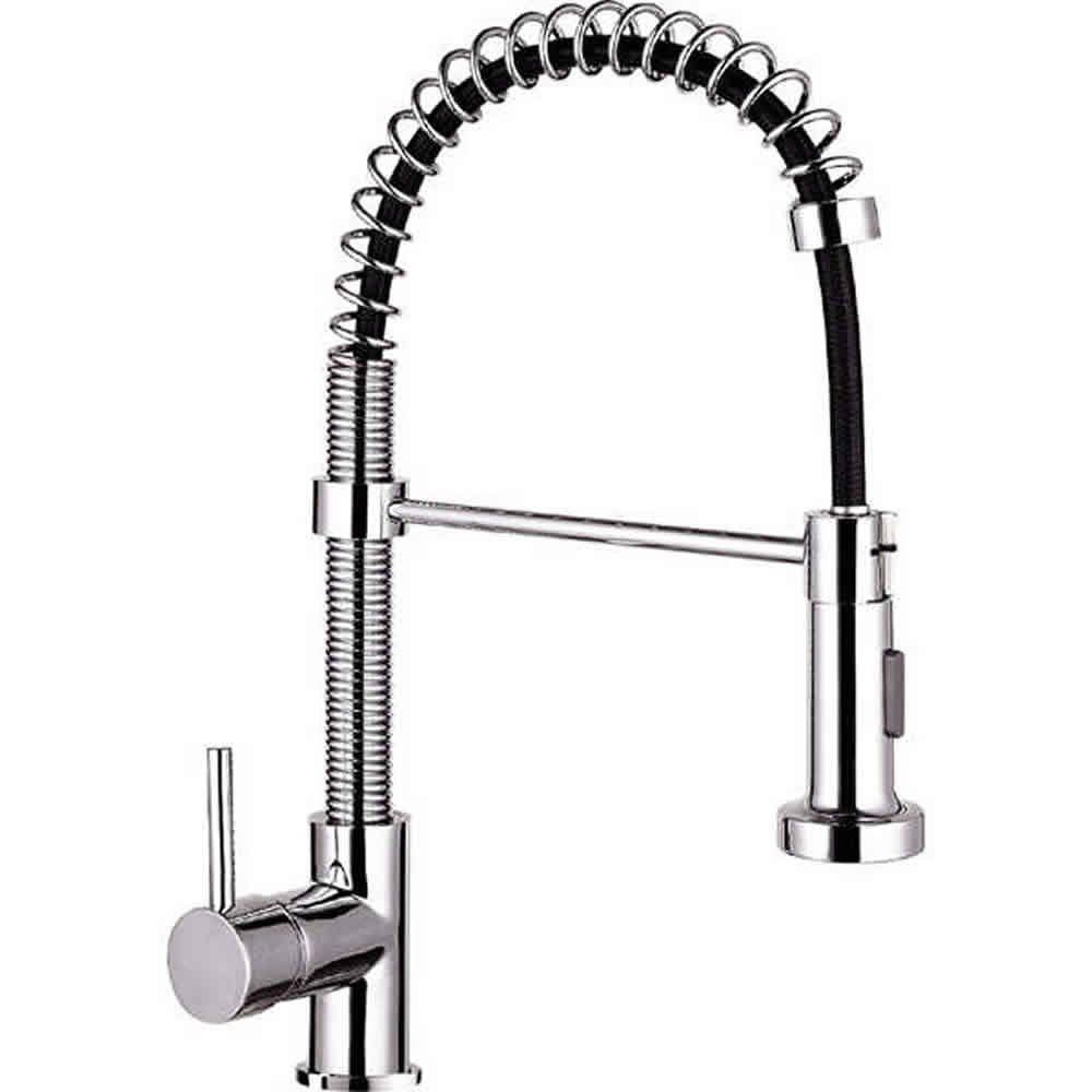 Astini Zetland Chrome Pullout Spout Kitchen Sink Mixer Tap Hk14