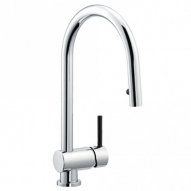 Astracast Alliance Single Lever Pull Out Chrome Kitchen Sink Mixer Tap TP1009