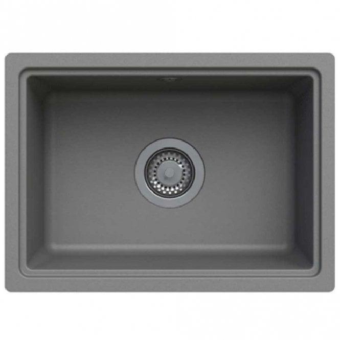 Astracast Askwith 1.0 Bowl ROK Granite Graphite Grey Kitchen Sink ...
