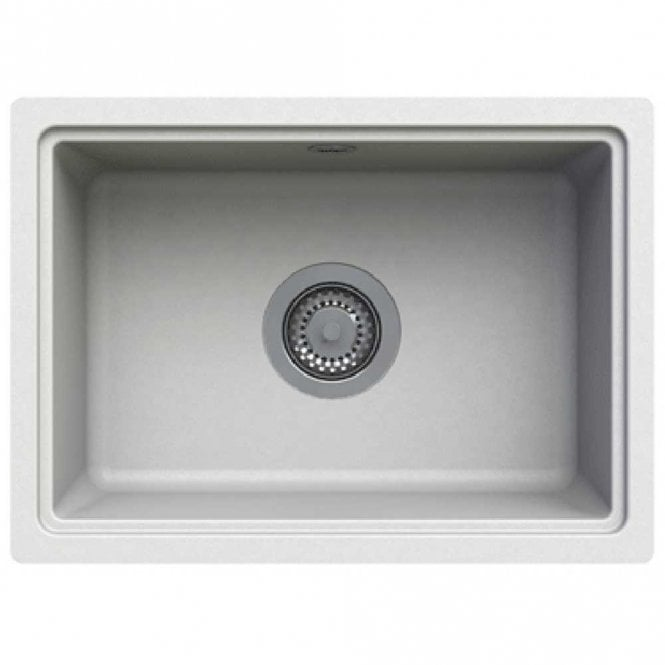 Astracast Askwith 1.0 Bowl ROK Granite Opal White Kitchen Sink ...