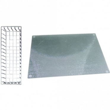 Astracast Belfast Stainless Sink Demi-Drainer & Glass Chopping Board