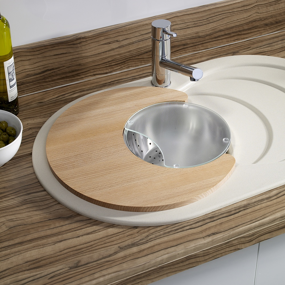 Kitchen Sink Attachments : ... Cascade 1.0 Bowl 3pc Kitchen Sink Accessories Set CC10ACCEXPTPK